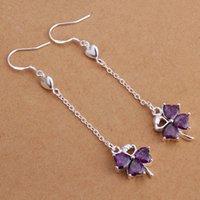 Wholesale fashion Silver Earrings Silver jewelry PE303
