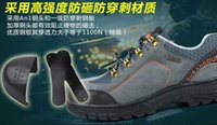 Wholesale steel toe outdoor safety working shoes