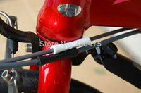 bicycle top tube cover - Bicycle g tube tops bmx frame protectors housing covers brake line tube anti friction sleeve