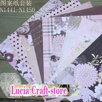 Wholesale DIY Scrapbooking Photo Album Frame suit Decoration Handmade Papers quot quot cm