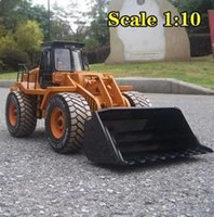 rc control robot - 52cm scale rc forklift rc truck electric rc bulldozer WD remote control construction trucks