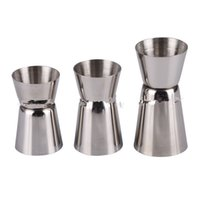 Wholesale Stainless ounce cup double the amount of wine amount amount spilled cup two special glass bar cocktail shaker