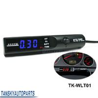 TK-WLT01 apex gauges - APEX Turbo timers for car black light color is blue original box Have In Stock TK WLT01
