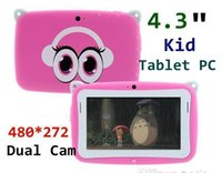 camera mini tablet pc - Kids Pre school Tablet PC Inch Dual Core RK2926 Android MB GB GHz Dual Camera WIFI MINI Tablet With Eduactional APP Games TA4