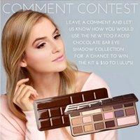 Wholesale New Makeup Eyes Chocolate Bar Eyeshadow Palette Colors Kinds Eyeshadow Palette