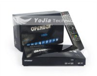 Wholesale Openbox V8Se Digital Satellite Receiver with AV output Support USB Wifi WEB TV Biss Key x USB G Youporn CCCAMD NEWCAMD as S V8