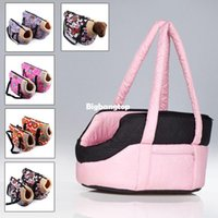 Wholesale 1509 pink dog carriers for small dogs bag for dog carrier bag gray soft Fashion pet carrier bag for dogs pets carry out pet goods