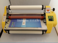 Wholesale Brand New quot Laminator Four Rollers Hot Roll Laminating Machine Fast Shipping Laminating Roll Film