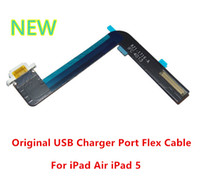 Wholesale 100 Original New USB Charging Port Charger Dock Connector Flex Cable Replacement For Ipad Air iPad