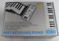 Wholesale 50pcs Keys USB Silicon Flexible Roll Up Electronic Piano MIDI Keyboard Musical Instrument Portable Electronic Organ