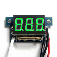 Wholesale Hot quot Red LED Digital DC Ammeter AMP Mini Current Panel Meter DC A