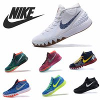 Wholesale 2015 Men s Basketball Shoes NIKE KYRIE EP New Athletic Sport Trainers Outdoor Shoes Running Shoes Size Basketball Boots Free shipi
