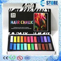 Wholesale Fashionable Colors short hair Fashion Hot Fast Non toxic Temporary Hair Chalk Dye Soft Paste wu