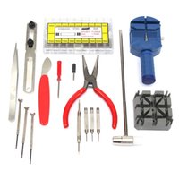 Wholesale Durable New Watch Repair Tool Kits Strap Holder Link Pin Pusher Spring Bar Remover Watches Accessories
