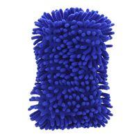 Wholesale 200pcs Microfiber Snow Neil fiber high density car wash mitt car wash gloves towel