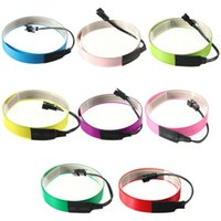 Wholesale Lowest Price cm mm Colorful Electroluminescent Tape EL Tape EL Wire AA Battery Power Colors