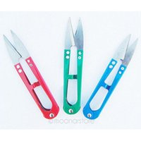 sewing scissors - 2015 New Arrvial V Shaped Cutter Scissors Hand Made Tool with Sharp Edge for Cross Stitch Embroidery Sewing Tool Snips Thrum Thread Nippers