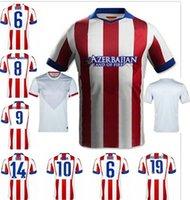 soccer jerseys uniforms - 2014 Thai Quality Atletico Madrid home Away Jerseys Home Soccer Jersey Custom Soccer Uniforms ON SALE