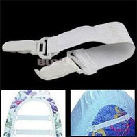 Wholesale 4 Set Bed Sheet Mattress Cover Blankets Grippers Clip Holder Fasteners Elastic Set