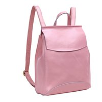 Cheap Women's Genuine Leather Backpack Purse Handle Satchel Young Ladies Sg Fit Ipad Files Casual Sports Smooth Cover Zipper Shopping Bag 3002