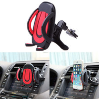 air condition vents - Car Air Vent Mount Cradle Holder Stand for iPhone Samsung Mobile Phone Cellphone Air conditioning vent phone holder Car GPS Navigator Bracke