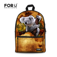 australia cell phones - Novelty Australia Animal Rose Teenager School Bags Cute Girls Koala Kangaroo Printing Backpacks Women Outdoor Mochila Feminina