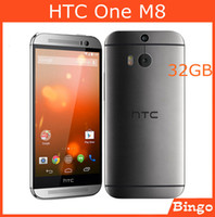 Wholesale Original Unlocked HTC One M8 GB GSM G G Android Quad core quot RAM GB Mobile Phone Dual MP cameras WIFI GPS dropshipping