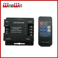 Wholesale RF Key Led Dimmer DC12 V W for single color strip light