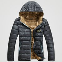 best down jacket for men - Fall Best selling high quality duck winter down jacket for men casual men s winter jacket coat colors