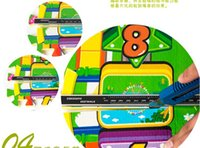 Wholesale Waterproof printing cartoon mat for baby crawling cm colorful environmental puzzle