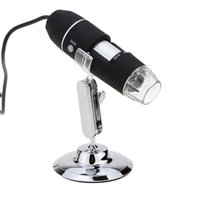 Wholesale Portable MP X X LED USB Digital Microscope Endoscope Magnifier Camera with Stand Driver Black Lightweight order lt no track