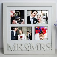 Cheap Wholesale-FBH031211 European Korean studio photos wood creative combination frame picture photo