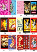 Wholesale 70x150cm g microfiber printed rectangle beach towel strong water absorption bath towel more designs for choice