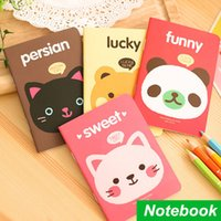 animal agenda - 12 Mini Notebook Animal diary book Soft copy book caderno escolar agenda stationery office material School supplies