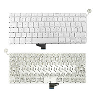 apple macbook parts - Keyboard without Backlit UK Layout Replacement Part For Apple Unibody MacBook A1342 Late to Mid Year