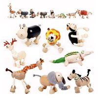 Wholesale Puzzle Creative Toys Organic animal toys foreign trade big wooden toys Dutch toys pieces per pack