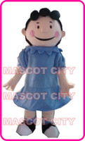 Wholesale Charlie Brown Lucy Mascot Costume Adult Hot Sale Anime cosply Cartoon Character Mascotte Mascota Fancy Dress Kits SW1571