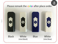 Wholesale USB lighter electric lighter wind proof lighter Safe farmless lighter with retail box