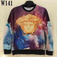 beautiful warriors - Newest style arrive fashion winter beautiful D pattern O neck hoodies Skeleton Warrior Red Panda Galaxy D Sweatshirts A1