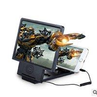 Wholesale Universal Portable Folding Phone Screen Magnifier Amplifier D Expander Video enlarge eye treasure Eye Lens with speaker Display D Video