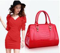 Wholesale Fashion crocodile pattern small fresh spring and summer one shoulder cross body handbag