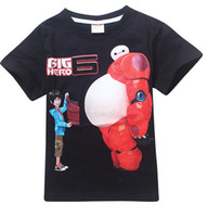 Men best quality t shirts wholesale - 2015 Latest DVD Movies Big Hero Best Animated Of The Year T Shirts we are sell dvd movie too Top Quality