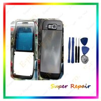 big button keypad - Big Discount New Full Housing Cover Case Keypads Buttons For Nokia E52 Housing Black Sliver Color Tools Free Tracking