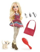 barbies dolls - Bratz in The Wild Baez joint body with Pet Girl doll Barbie toys