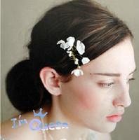 Cheap Fascinators Hair Accessories Best Silk Flower  Bridal crystal wreath