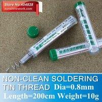 Wholesale Non Clean Active Soldering Tin Thread high lightness a tin line diameter mm weight g length mm