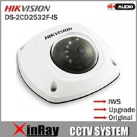 audio update - Free DHL Newest Hikvision DS CD2532F IS Full HD MP IP66 Mini Dome Camera Built in Mic Audio Input Support Updating Global Warranty