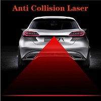 Wholesale Newest Car Styling Universal Rain proof Anti Fog Anti Collision Laser Warning Light Laser Anti Fog Lamp Auto Laser Light with retail box
