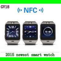 Wholesale New GV18 Wireless Bluetooth Smart Watch With Camera Waterproof Smart Wrist Watch For Android Phone Smartphones