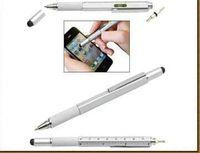 Wholesale Overvalue Handy Tech Tool Ballpoint Pen Screwdriver Ruler Spirit Level Multifunction Tool Fit For Mens Gift